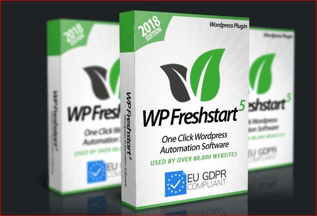 WP Freshstart 5.0 REVIEW